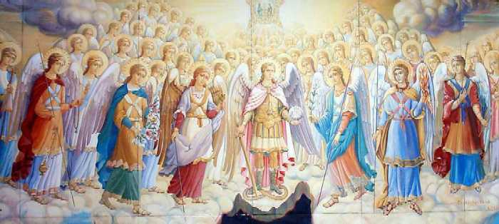 Ангельский и демонический мир и его воздействие.