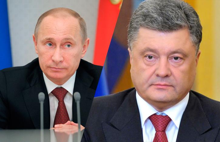 Стало известно требование Путина к Порошенко в ходе телефонных переговоров