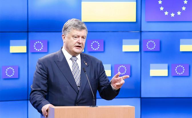Петр Порошенко: «Евросоюз будет вынужден нас принять»