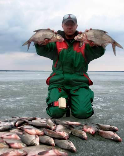 Ловля на мормышки зимой