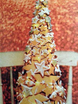 Рецепты к Новогоднему столу. Как приготовить печенье и сделать новогоднюю ель