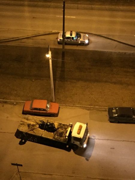 Задержан мотоциклист. Санкт-Петербург 06.04.15г.