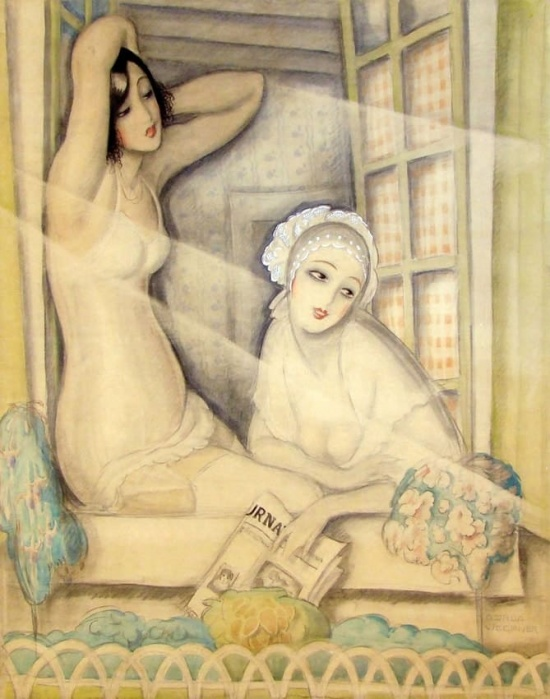 художник Герда Вегенер (Gerda Wegener) картины – 16
