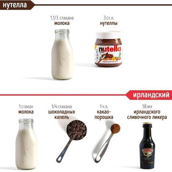 Десертный вихрь. 14 рецептов горячего шоколада