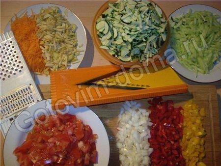 Овощное ассорти в томатной заливке Ностальгия