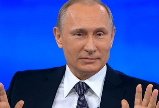 Путин превратил в шутку ошибку Лукашенко