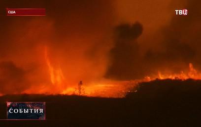 Калифорнию из-за пожаров покинули около 12 тысяч жителей