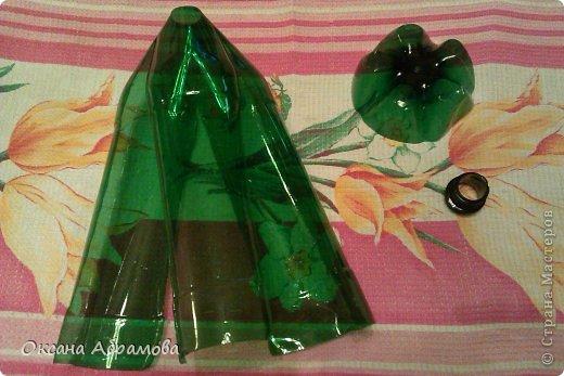 Как сделать из пластиковой бутылки листья