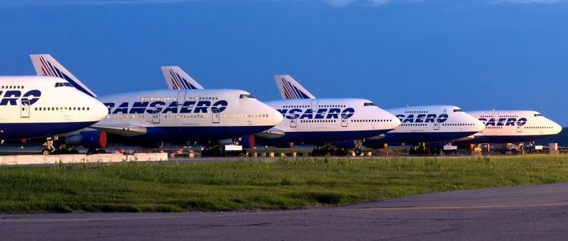 34 самолета из парка «Транса…