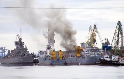 """Горевшая подлодка """"Орел"""" вернется в состав ВМС в 2016 году"""