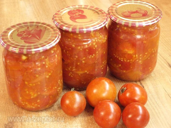 Свежие помидоры на зиму. Очень полезная заготовка!