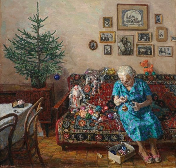 20 невероятных душевных и теплых картин, наполненных ароматом праздникa
