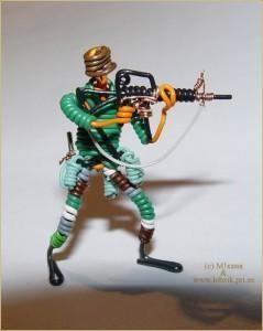 Проволочный солдатик своими руками