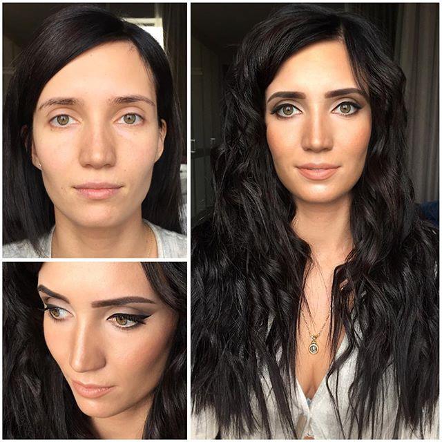 Изменить внешность лица