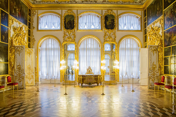 Экскурсия по Большому Екатерининскому дворецу
