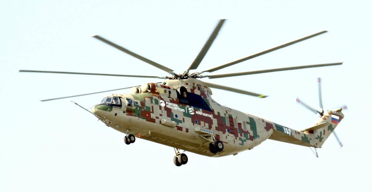 Уникальные кадры: «Вертолёты России» презентовали обновлённый Ми-26Т2В