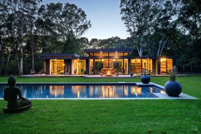 Уютный дом на лоне природы