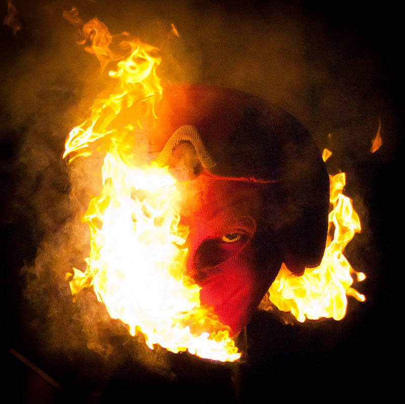 8129 Гори оно огнем   как горит дьявол из спичек