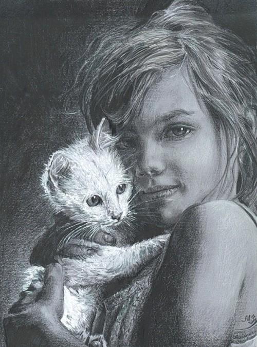 рисунки карандашом Maria Zeldis -2-11