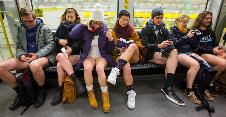 В метро без штанов — 2016