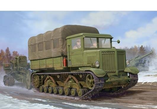 «Ворошиловец» Легендарный трактор особого назначения Ворошиловец, война, трактор