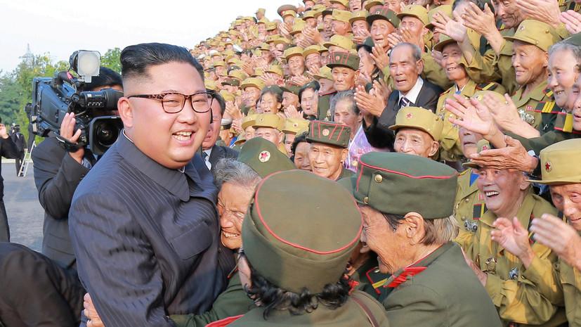 Песков рассказал о содержании послания Путина Ким Чен Ыну