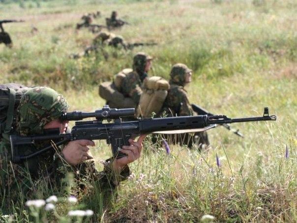 Выбор огневой позиции снайпера в обороне