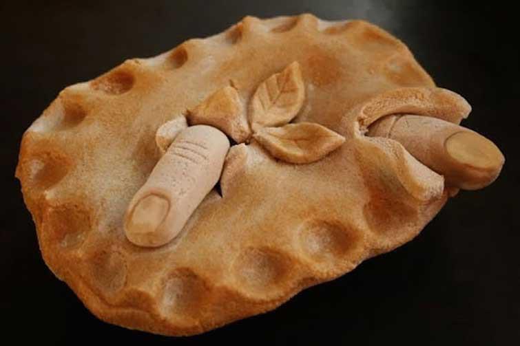 """Пирог """"Беспокойные пальцы выпечка, красивая еда, кулинария, пироги"""