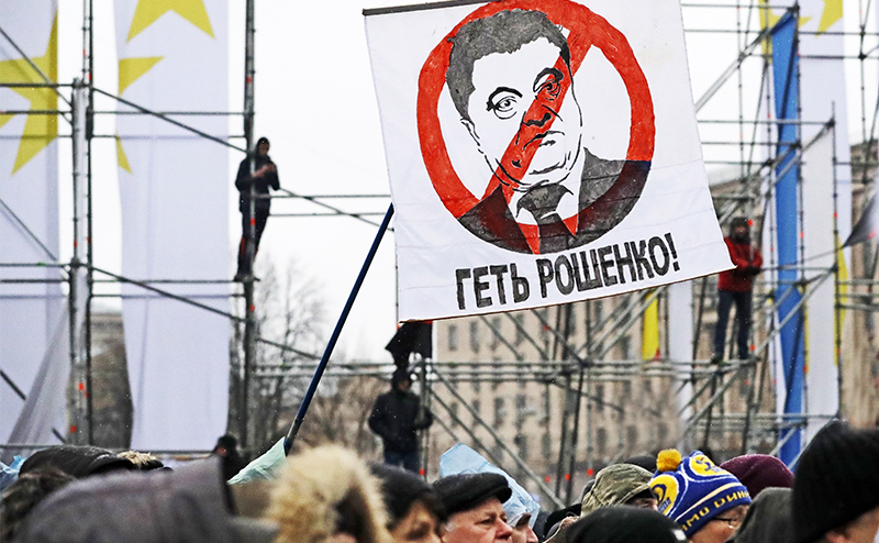 Карта Порошенко бита: На кого Запад сменит Саакашвили
