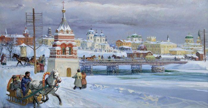 художник Сергей Евгеньевич Сочивко картины – 05