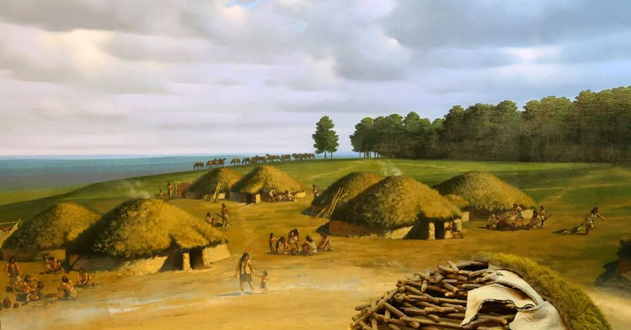 В жилище каменного века
