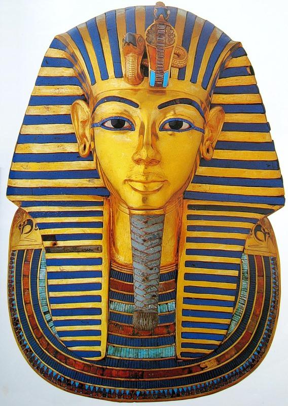 Тутанхамон как нарисовать