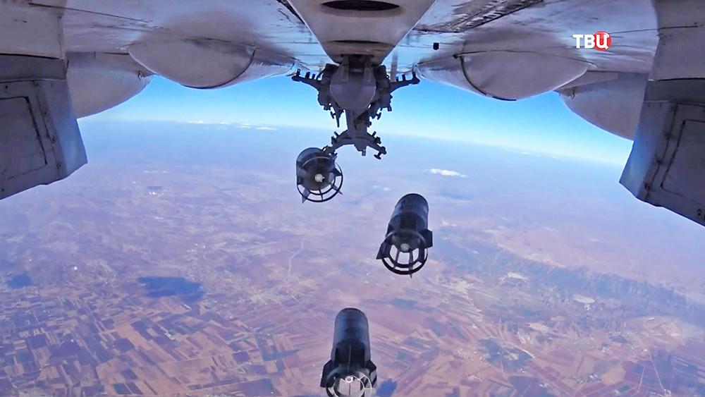 Российские ВКС совершили 67 вылетов и поразили 60 объектов в Сирии