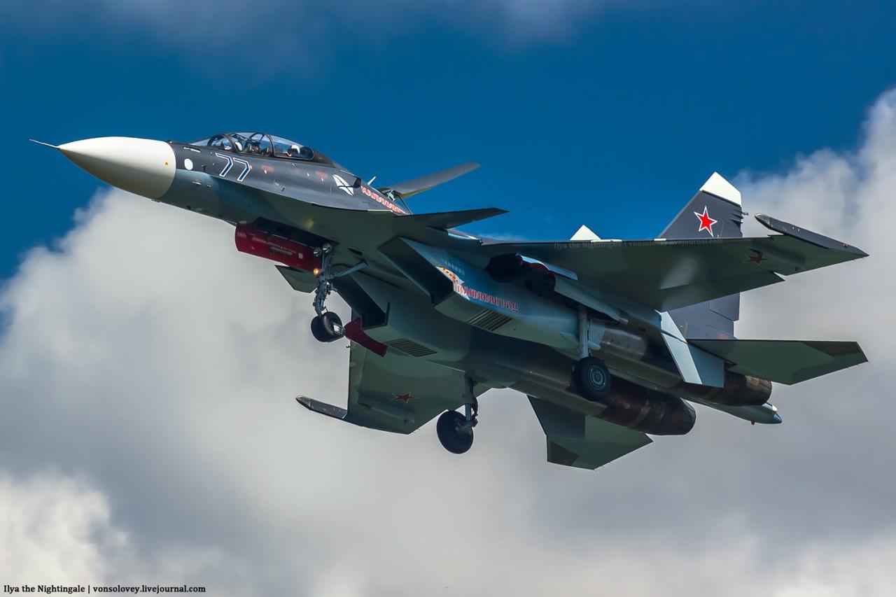 Два новых Су-30СМ прибыли на Балтийский флот