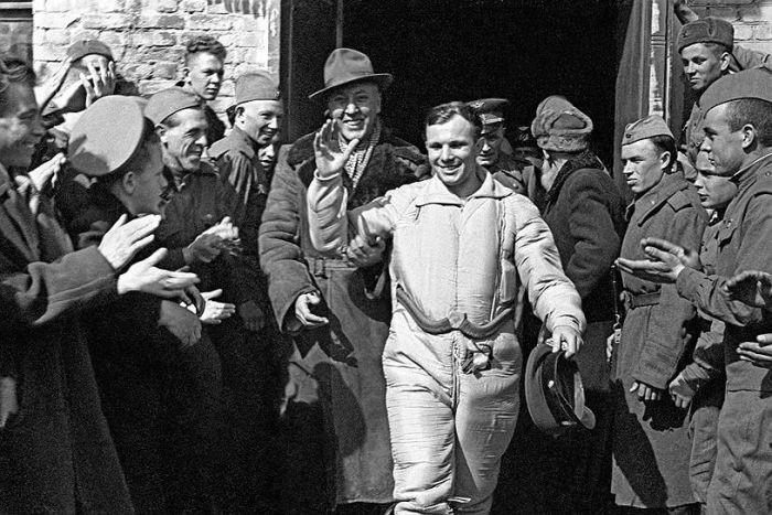 Настроения граждан СССР после известия о первом полете человека в космос гагарин, космос, ссср
