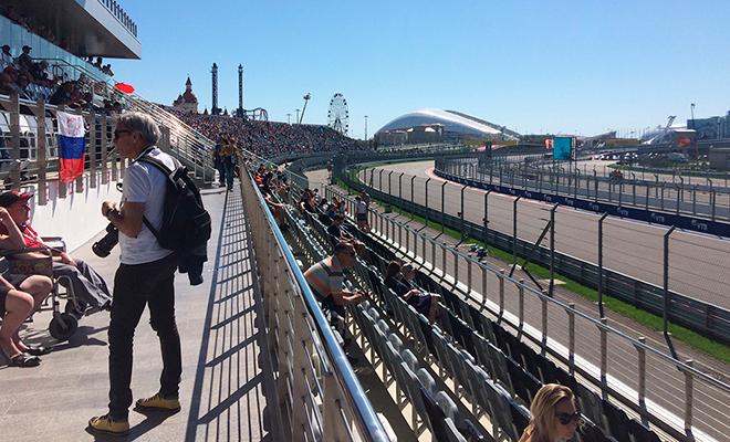 Что пьют пилоты Formula 1: репортаж с Гран-При России в Сочи