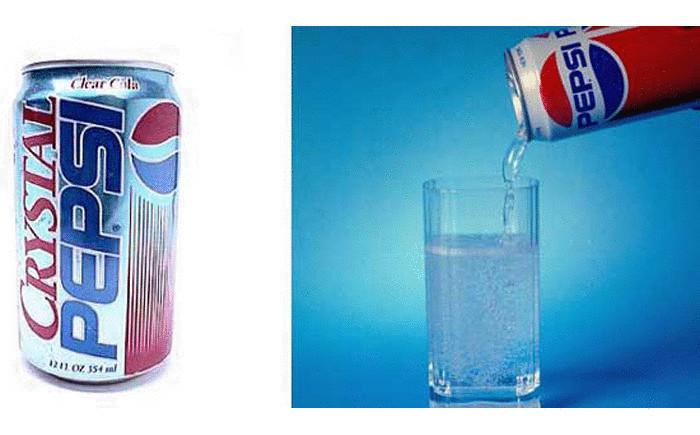 marketing failed product crystal pepsi