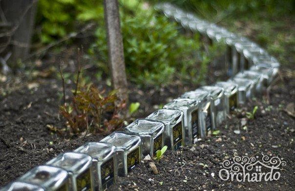 Ограждения из стеклянных бутылок своими руками 36