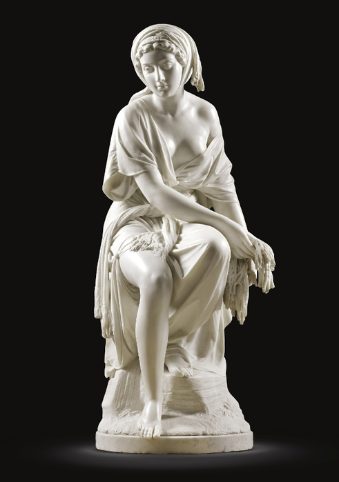 Giovanni Battista Lombardi (Italian sculptor 1823-1880) Ruth, 1864 11 (491x700, 144Kb)