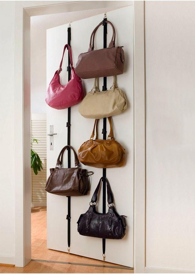 Сделать вешалку для сумок своими руками