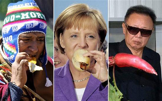 Гастрономические привычки мировых лидеров