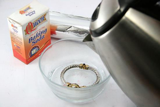 1. Полировка серебра совет, фольга, хитрость