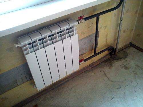 Расположение радиатора своими руками