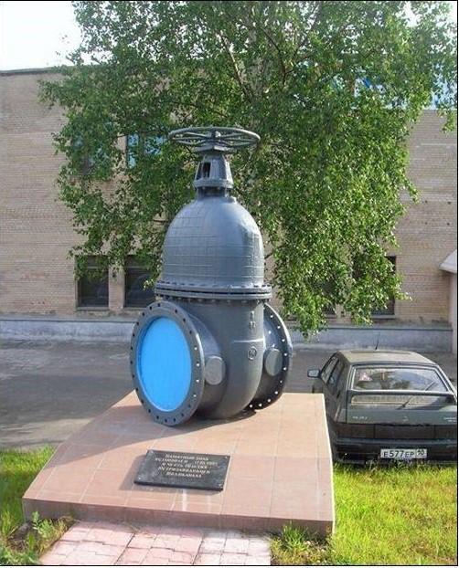 Памятник водопроводному крану. Петрозаводск Прикольные памятники, факты