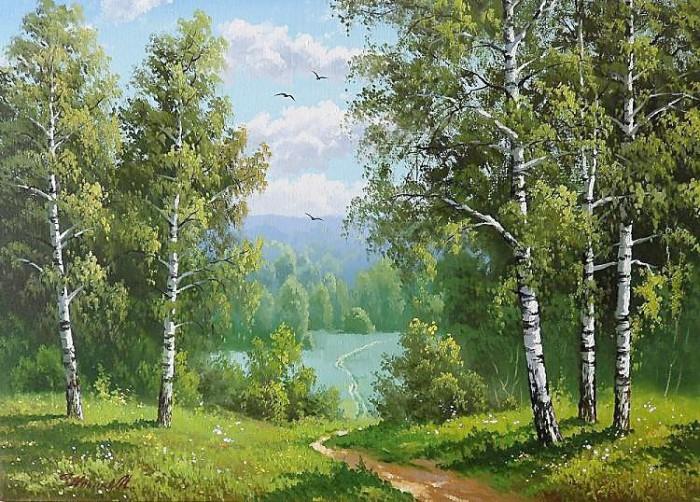 пейзажи Евгений Бурмакин -12