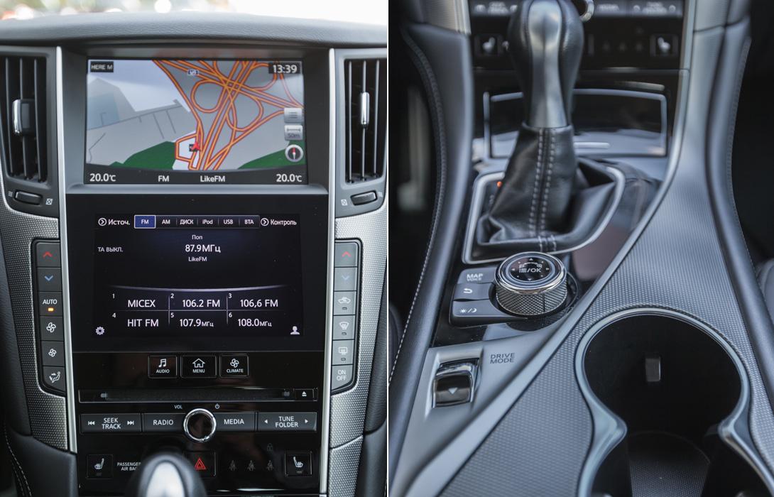 Тест-драйв Infiniti Q50 Hybrid