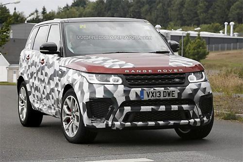 Range Rover Sport RS замечен во время дорожных тестов