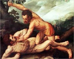 Чье преступление несет на себе Каин?