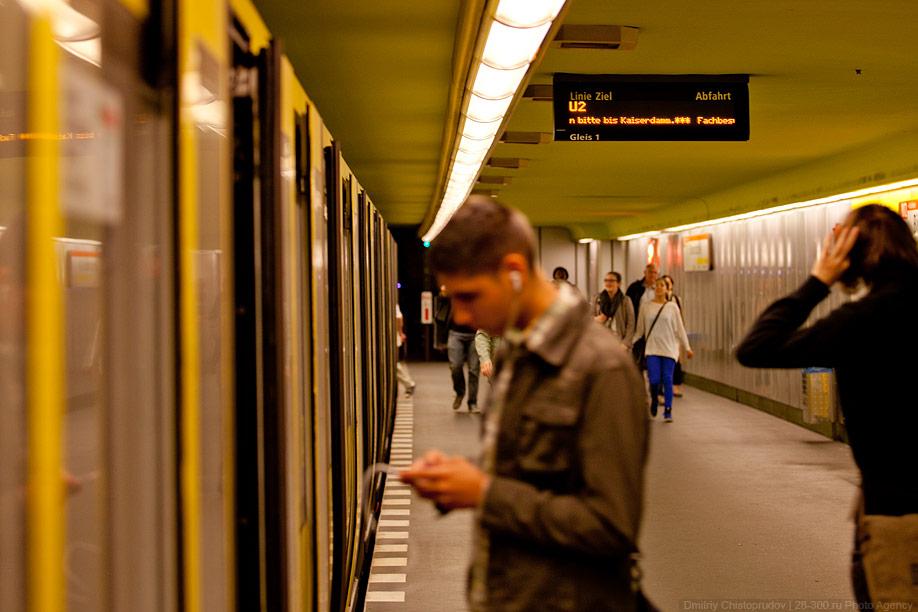 Berlin 14 Общественный транспорт Берлина