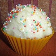 Сливочный кекс с кремом